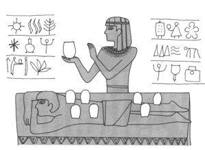 古代エジプトでも吸い玉は使われてきました